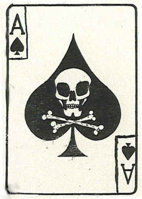 spade death card  Death Cards - Psychological Operations