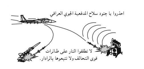 military coloring pages iraq | No-Fly Zone Warning Leaflets to Iraq