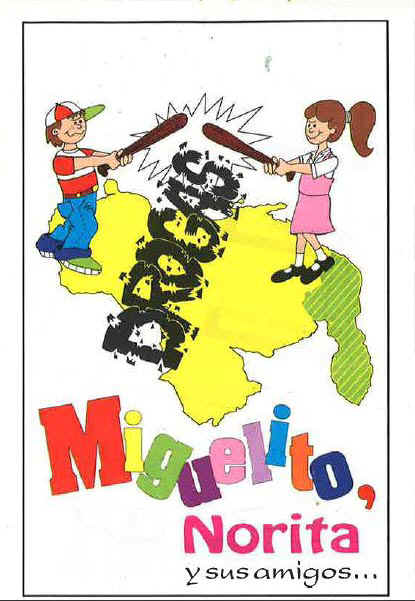 Coloring Books For The Venezuelan National Guard