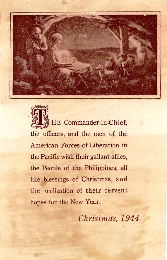 Counterfeit Propaganda Christmas Cards