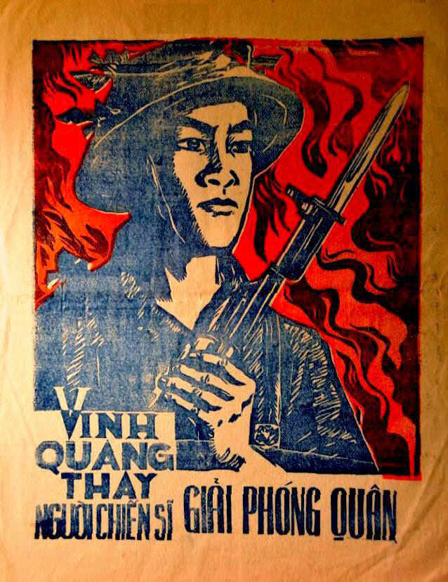 National Liberation Front Anti American Leaflets Used