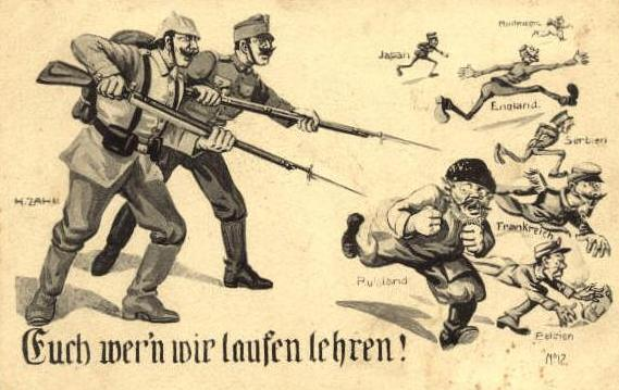 German WW1 Psyop
